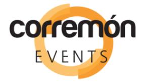 Logo Corremon Events